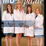 Cover photo of MD-Update magazine featuring Cassis Dermatology