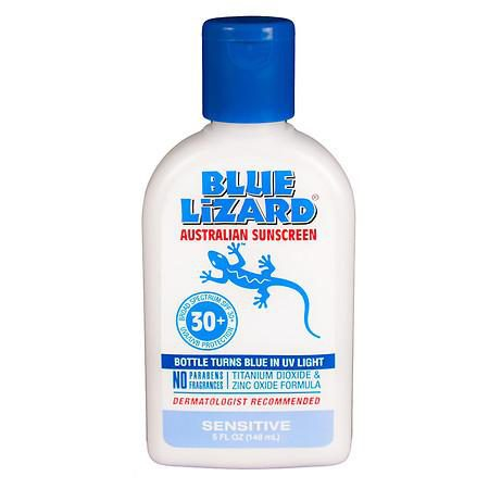 Photo of Blue Lizard Sensitive Sunscreen