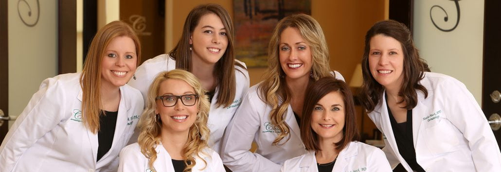 Dr. Tami Cassis, Dr. Andrea Burch, Heather Hill, Katie Booker, Sydney Newton & Heather Mucci